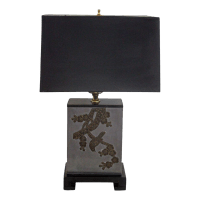 Frederick Cooper Tin & Copper Canister Lamp   Chairish