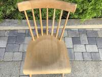 Wooden Spindle Chair | Chairish