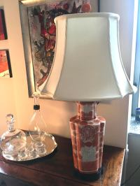 Chinese Mid-Century Porcelain Table Lamp | Chairish
