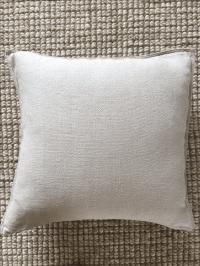 Restoration Hardware French Linen Throw Pillow | Chairish