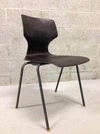 Mid-Century Modern Pagholz Bent Plywood Chair | Chairish