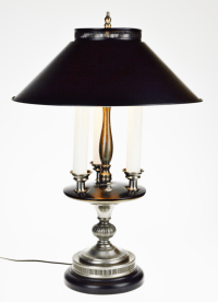 Vintage Bouillotte Style Table Lamp Metal Lamp Shade ...