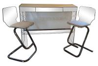 Mid-Century Modern Lucite Bar Table | Chairish