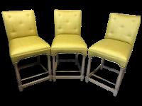Custom Hickory Chair Bar Stools