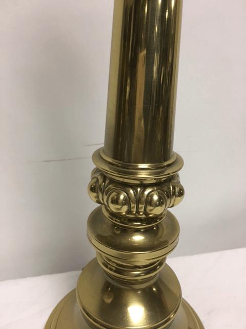 Stiffel Hollywood Regency Style Brass Table Lamp