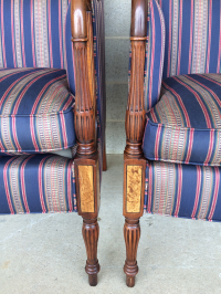 Southwood Mahogany Accent Chairs