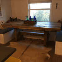 West Elm Emmerson Reclaimed Wood Dining Table | Chairish