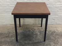 Mid-Century Modern Folding Top Dining/Card Table | Chairish