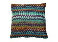 Vibrant Tribal Print Pillows - Pair | Chairish