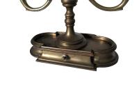Antique French Bouillotte Lamp | Chairish