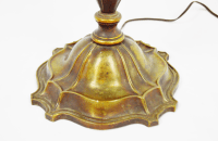 Vintage Bronze Pull Chain Floor Lamp   Chairish