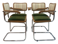 Marcel Breuer Cesca Chairs by Knoll - Set of 4   Chairish