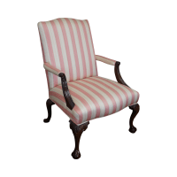 Chippendale Ball & Claw Foot Arm Chair