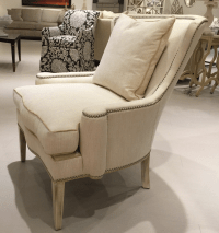Southwood Transitional Modified Wing Chair