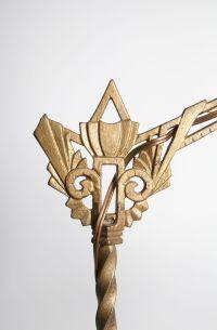 Art Deco Style Floor Lamp | Chairish