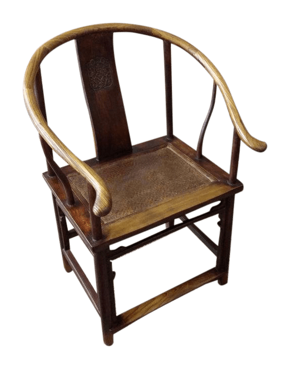 Chinese Ming Dynasty Horseshoe Chair
