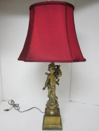 Vintage Cherub Angel Table Lamp