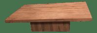 Restoration Hardware Reclaimed Russian Oak Plinth Coffee ...