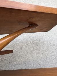 Mid-Century 3 Tiered Side Table | Chairish