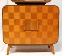 Atomic-Style Mid-Century Bar Cabinet by Halabala   Chairish