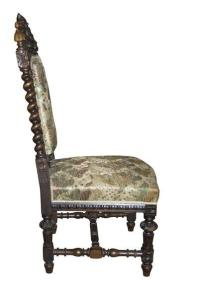 Antique Carved Baroque Chair | Chairish