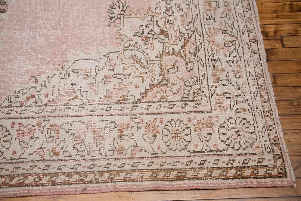 Blush Pink Turkish Overdyed Rug