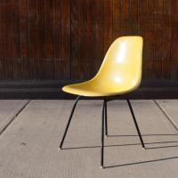 Herman Miller Eames Fiberglass Chair | Chairish