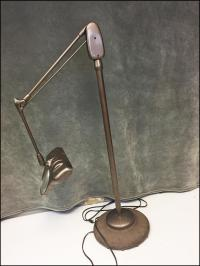 Vintage Industrial Dazor Brown Articulating Magnifying ...