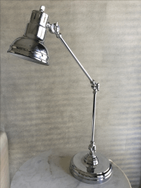 Z Gallerie Charleston Desk Lamp | Chairish