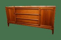 Walnut Mid-Century Credenza by Lane Furniture | Chairish