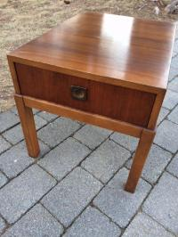 Lane Mid Century Modern Side Table/Night Stand   Chairish