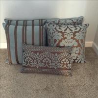 Restoration Hardware Throw Pillows - Set of 5 | Chairish