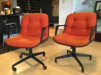 "Steelcase Rolling ""Pollack"" Swivel Office Chairs 