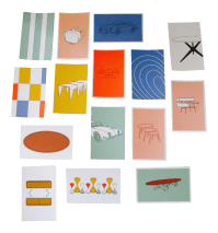 Mid-Century Modern Chair Postcards & Other Iconic Products ...