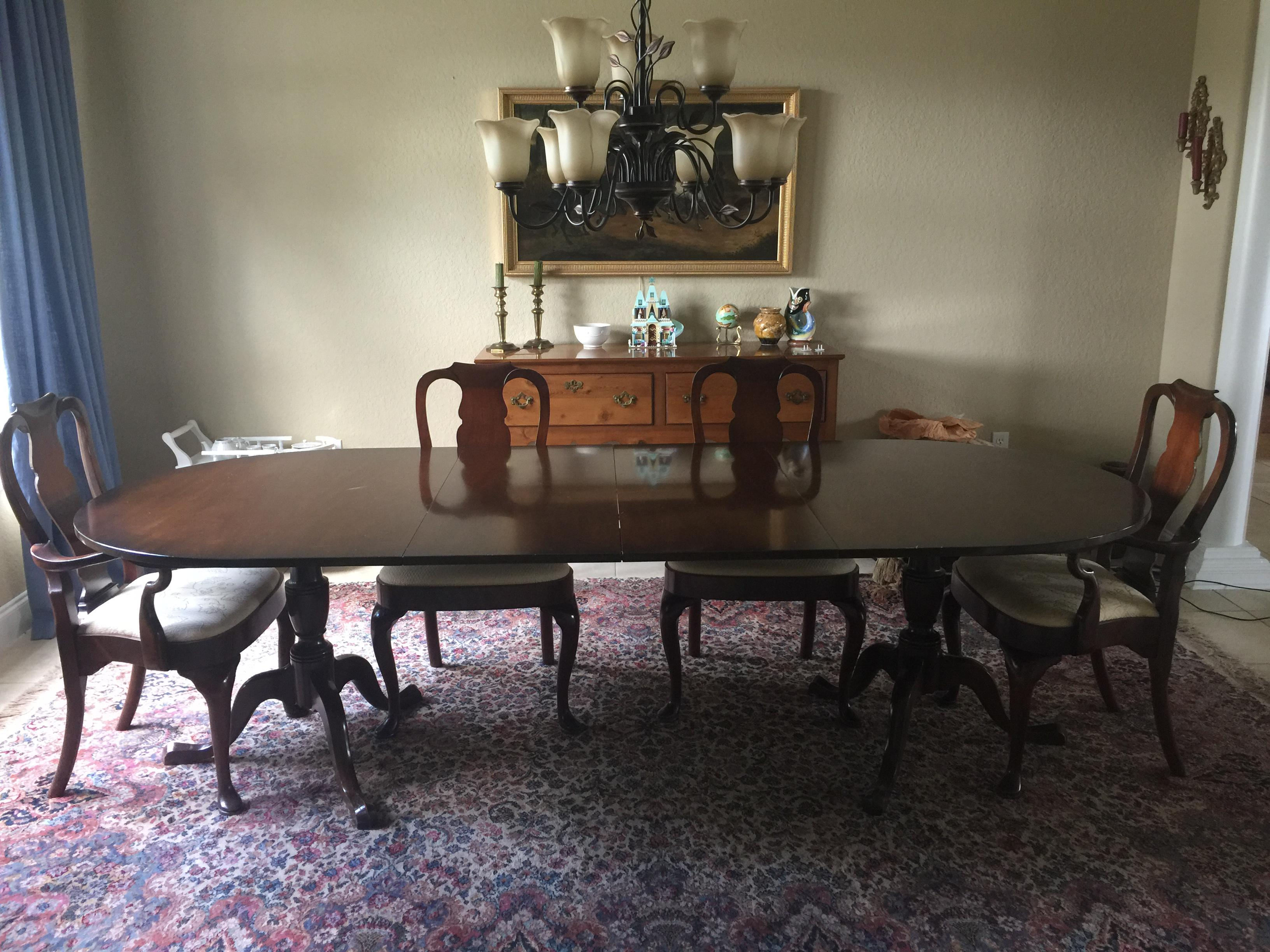 Kittinger Dining Table  Chairish