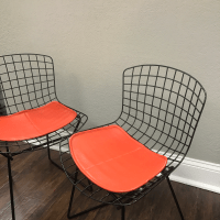 Vintage Knoll Harry Bertoia Child Chairs