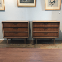 United Furniture Mid-Century Dressers - a Pair | Chairish