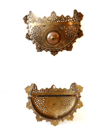 Moroccan Wall Sconces - A Pair | Chairish
