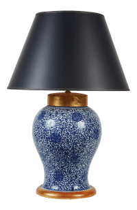 High-End 19th Century Chinese Ginger Jar Table Lamp with ...