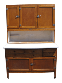 Betsy Ross Hoosier Cabinet | Chairish
