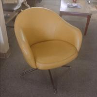 Mid Century Viko Swivel Chair | Chairish