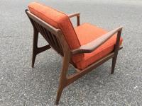 Mid-Century Sculptural Lounge Chair | Chairish