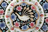 Hand Painted Decorative Italian Plate   Chairish