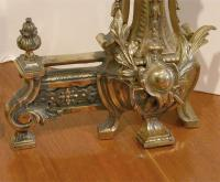 Distinguished French Chenets/Andirons | DECASO