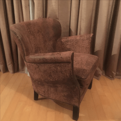 Professor Chair Restoration Hardware Mesh Dining Professor's Leather With Nailheads | Chairish
