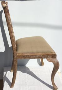 Three Contemporary Queen Anne Style Dining Chairs | Chairish