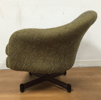 Mid-Century Swivel Lounge Chair | Chairish