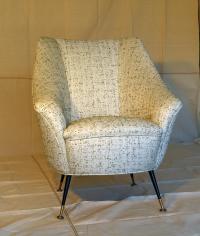 Italian Mid-Century Modern Chair | Chairish