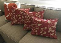 Hable Construction Decorator Throw Pillows - Set of 4 ...