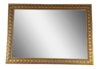 Gold Framed Wall Mirror | Chairish